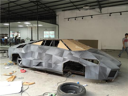玻璃钢车造型